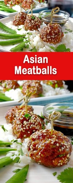 This Asian Meatballs Recipe makes for a great appetizer or an easy weeknight family meal.