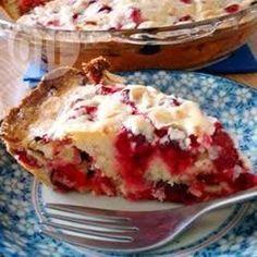 Фото рецепта: Клюквенный пирог