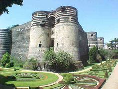 Angers Castle in France