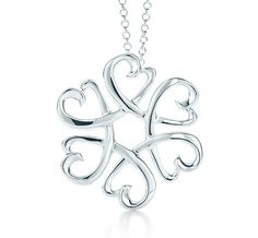 Tiffany & Co. | Item | Paloma Picasso® Loving Heart medallion pendant in sterling silver, small. | United States