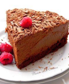 Gâteau-mousse-au-chocolat Delicious Desserts, Dessert Recipes, Yummy Food, Chocolate Flavors, Chocolate Desserts, Pelo Chocolate, Cupcake Cakes, Cupcakes, French Desserts