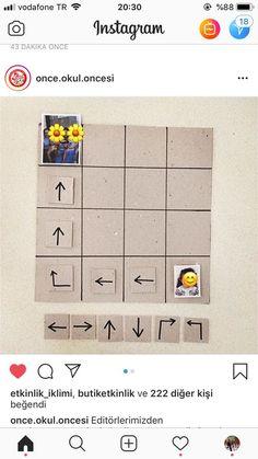 Preschool Worksheets, Kindergarten Activities, Computing Display, Visual Perception Activities, Teaching Handwriting, Was Ist Pinterest, Robots For Kids, Pattern Code, Coding For Kids