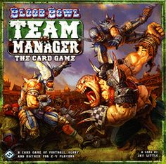 Blood Bowl: Team Manager - The Card Game - Board Games Fun Board Games, Fun Games, Games To Play, Blood Bowl Teams, But Football, Wood Elf, Games Images, The Championship, Fantasy Football