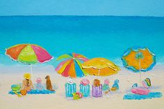 Summer Love!   #beachpaintings #tropicaldecor #bathroomwallart prints from $27