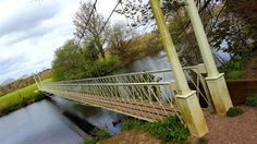 Suspension Bridge Canford Magna