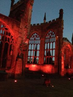 Coventry Cathedral #wearitpink