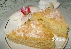 Fotorecept: Mrkvovo - ananásový koláč