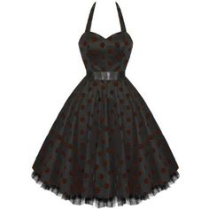 LADIES NEW HEARTS AND ROSES PURPLE FLOCK POLKA DOT VTG 50S SWING PINUP PARTY PROM DRESS,£29.99