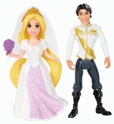 Disney Princess Little Kingdom Magiclip Rapunzel Fairytale Wedding Dolls Mattel http://www.amazon.com/dp/B00EVX1DDK/ref=cm_sw_r_pi_dp_f1Idvb0ZT4106