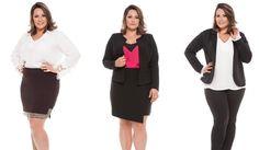 Moda plus size executiva 2015! Veja o que há de novidade nas peças para o trabalho!