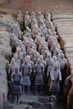 The Terracotta Army was constructed to accompany the tomb of China's First Emperor as an afterlife guard. Terra Cotta, Countries To Visit, Places To Visit, Terracotta Army, Visit China, Great Wall Of China, China Travel, Chinese Culture, Cruise Vacation