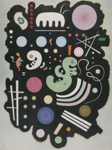 Noir bigarré (Nero variopinto), 1935 , Wassily Kandinsky - Irma Bianchi Comunicazione