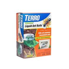 Terro 1806 Outdoor Liquid Ant Baits 10 fl oz 6 count -- Continue to the product at the image link. Large Black Ants, Terro Ant Killer, Crappie Bait, Ants In House, Bait Trap, Aquaponics Kit, Indoor Aquaponics, Pest Control