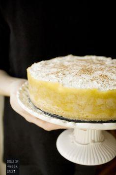 Rezept für Apfeltorte mit Vanille Zimt Sahne | Kuchen | www.fraeuleinmeerbackt.de