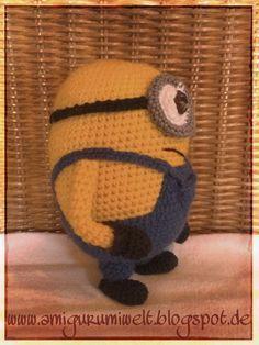 amigurumi häkeln crochet minions kostenlos übersetzung amigurumisfanclub