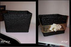 DIY decorative basket