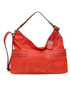 Look what I found on #zulily! Hibiscus Annie Hobo by Jessica Simpson Collection #zulilyfinds