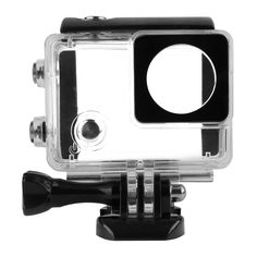 SHOOT 40M Waterproof LCD Display Case With Non-Touchable backdoor for Gopro Hero 4 3+ Camera Go Pro Accessories