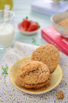 ¡Qué cosa tan dulce!: Galletas de avena y manzana
