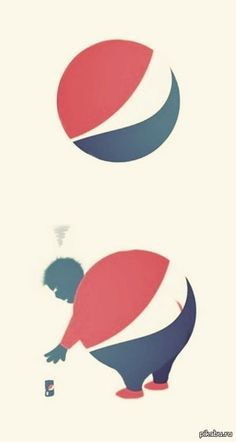 I like how it shows what will happen if you keep drinking soda