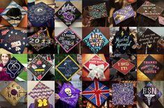 decorating graduation caps