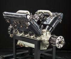 Wright Hispano-Suiza H-3, V-8 Engine Power rating: 242 kW (325 hp) at 1,800 rpm Displacement: 18.47 L (1,127 cu in) Bore and Stroke: 140 mm (5.51 in) x 150 mm (5.91 in) Weight: 281.2 kg (620 lb) Famed designer Mark Birkigt was from Switzerland, but his aircraft engines were built elsewhere. Hispano-Suiza engines were under license in the United States.  Improvements in the Model H-3 made by Wright Aeronautical raising its output as high as 280 kW (375 shp).