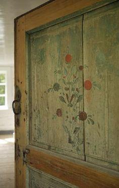 Swedish Door Detail