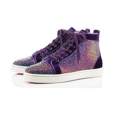 Christian Louboutin Holiday 2011 Men's Sneakers (1 330 BGN) ❤ liked on Polyvore featuring men's fashion, men's shoes, men's sneakers, shoes, sneakers, christian louboutin, mens slipon shoes, mens sneakers, christian louboutin mens shoes and mens slip on shoes