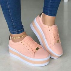 54 Sweet shoes to inspire - # Check more at shoes. - 54 cute shoes to inspire – # check more at schuhe.si … 54 cute shoes to inspire – # c - Cute Sneakers, Sneakers Mode, Girls Sneakers, Girls Shoes, Sneakers Fashion, Fashion Shoes, Shoes Women, Pretty Shoes, Cute Shoes