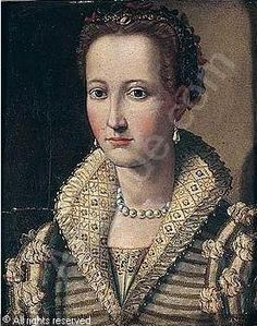Circle of ALLORI Alessandro - Portrait of a noblewoman