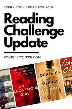 Did you finish the 2019 Reading Challenge? With a book for every week, here are all 52 books I read this year for my 2019 Reading Challenge. Best Book Club Books, Best Books To Read, Good Books, Book Challenge, Reading Challenge, Reading Lists, Book Lists, Reading Room, Starting A Book