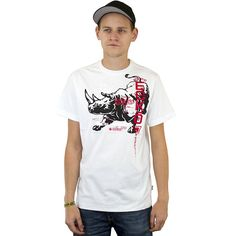 T-Shirt Ecko Making Moves bleach white ★★★★★