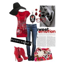 Running Hot, created by charlotte-bilton-carver on Polyvore