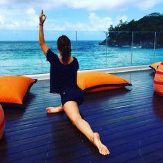 Wir wollen da sein wo @katja.gunkel_yoga ist und an ihrer Yoga Session teilnehmen! Unbedingt! Wer macht mit?  #Yoga #Yogapose #Workout