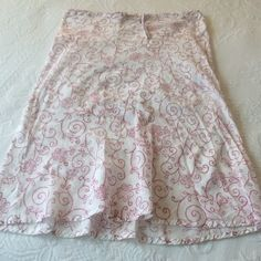 newApsara cotton gauze Indian skirt think 1970's Indian Print skirt and this is the picture. free size drawstring skirt. cream color background with henna-like design. perfect for over a bathing suit or at your fave summer music festival or fair. measurements are 18 inches across with drawstring fully extended, 26 inches long. 100% cotton! Apsara Skirts Midi