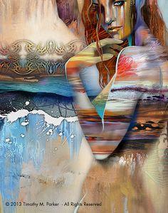Figura abstracta arte las figuras figura moderna por FigureArt