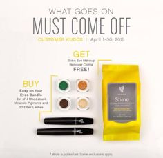April kudos is designed to make your eyes pop!  Check it out on http:/www.smossmakeup.com