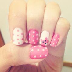 Bear nails  #cute #nails #bears #girly