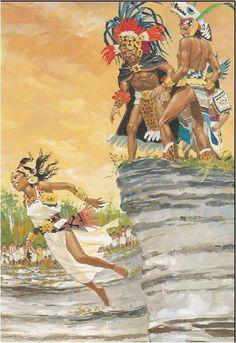 What? Why? Ancient Aztecs, Ancient Civilizations, Fantasy Figures, Fantasy Art, Aztecas Art, Aztec Empire, Aztec Culture, Inka, Aztec Warrior