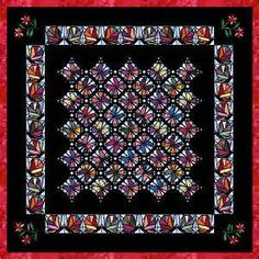 Christmas Banners | Come See The Stained Glass Quilt