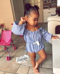 Baby Mohawk Haircuts In 2020 Cute Mixed Baby Girl Hairstyles Cute Kids Fashion, Baby Girl Fashion, Toddler Fashion, Baby Swag, Kid Swag, Beautiful Black Babies, Beautiful Children, Cute Mixed Babies, Outfits Niños