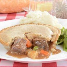 Quick and Indulgent Beef Pot Pie