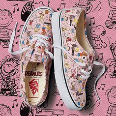 Vans x Peanuts Authentic | www.vans.com
