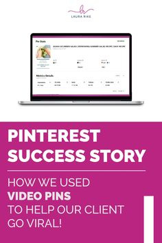 This month, we started using video in many of our clients' idea pins. One client, a food blogger, saw a huge benefit using this new feature. Learn more about the Pinterest strategies we're implementing and the benefit they are having. #pinterestmanagement #pintereststrategy #businessgrowth Digital Marketing Business, Digital Marketing Strategy, Digital Marketing Services, Inbound Marketing, Media Marketing, Strategic Marketing Plan, Online Marketing Strategies, Benefit, Online Video