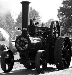 Traction Engine by Roger Welham, via 500px