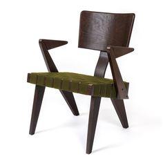 @gusmodern, IHFC H512 - Spanner Lounge Chair in Dark Birch and Green #DesignOnHPMkt #HPMKT #TrendWatch #Unbounded #furniture #modern #homefurnishings