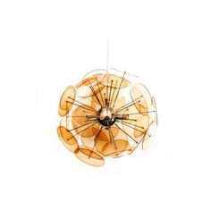 Amari Pendant Lamp in Orange