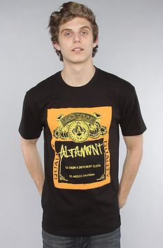 The Bummer Tee in Black by Altamont