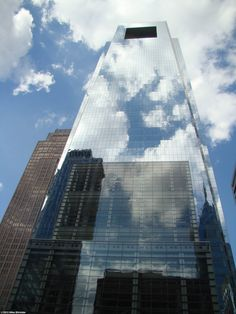 The Comcast Center - The city's tallest building