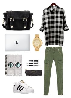 """""""Goes to campus"""" by whatsinafashion on Polyvore"""